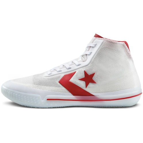 "Converse All Star Pro BB ""White/Red"""
