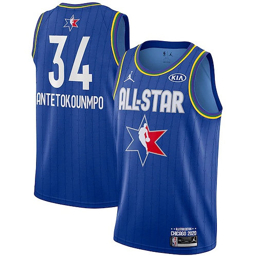 Jordan 2020 NBA All-Star Game Giannis Antetokounmpo Swingman Jersey