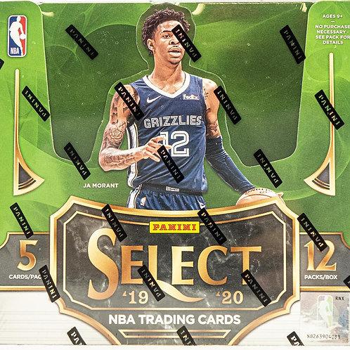 Panini 19-20 Select Basketball Hobby Box