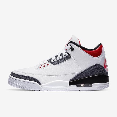 "Air Jordan 3 Retro SE ""Fire Red Denim"""