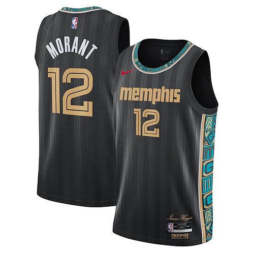 Nike NBA Grizzlies City Edition Ja Morant Swingman Jersey
