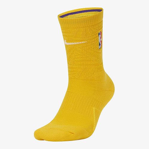 Nike Los Angeles Lakers City Edition Nike Elite NBA Crew Socks