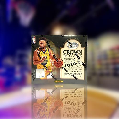 Panini NBA 20-21 Crown Royale Asia Exclusive Box