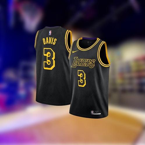 Nike NBA Lakers Mamba Edition Anthony Davis Swingman Jersey