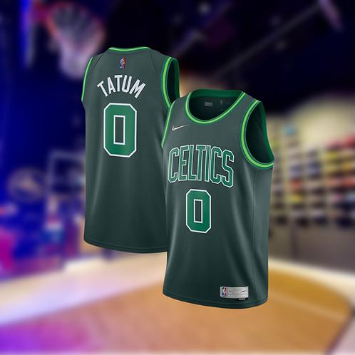 Nike NBA Celtics Earned Edition Jason Tatum Swingman Jersey