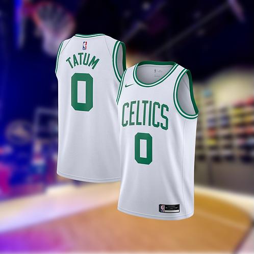 Nike NBA Celtics Association Edition Jason Tatum Swingman Jersey