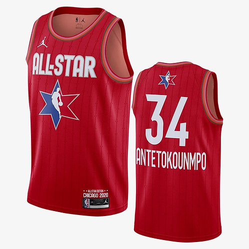 Jordan 2020 NBA All-Star Game Giannis Antetokounmpo Swingman Jersey