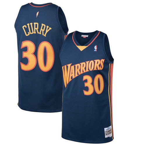 2bdb2b9aab7 M&N Stephen Curry GSW Swingman Jersey