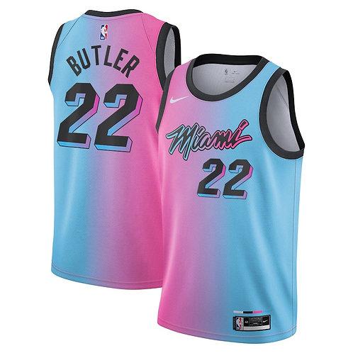 Nike NBA Miami Heat City Edition Jimmy Butler Swingman Jersey