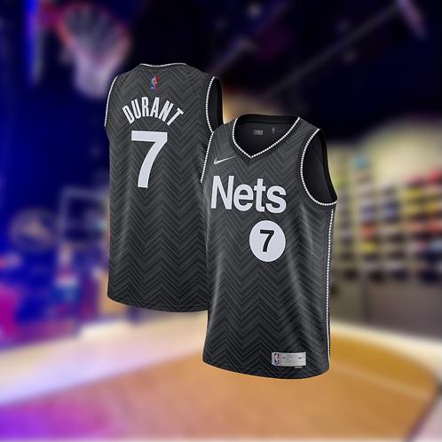 Nike NBA Nets Earned Edition Kevin Durant Swingman Jersey