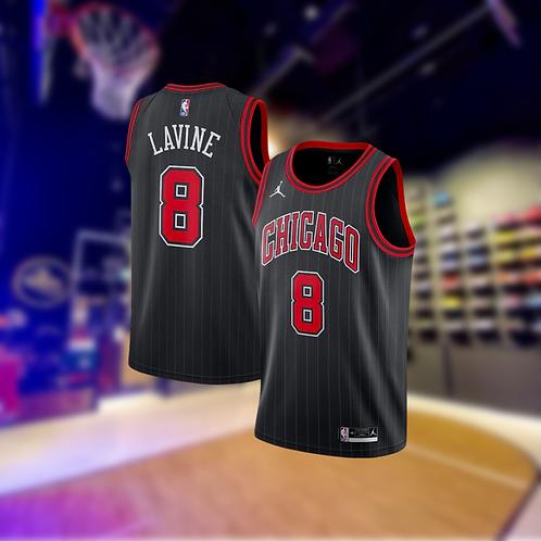 Jordan NBA Bulls Statement Edition Zach Lavine Swingman Jersey