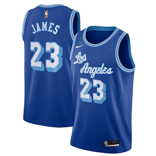 Nike NBA Lakers Classic Edition LeBron James Swingman jersey