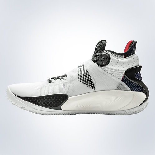 """LiNing Sonic 9 basketball shoes """"Black/White"""""""
