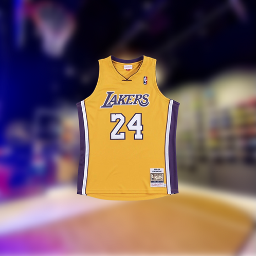 Mitchell & Ness NBA Los Angeles Lakers Kobe Bryant 08-09 Home Authentic Jersey