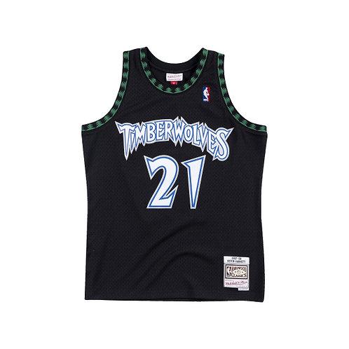 Mitchell & Ness NBA Timberwolves Hardwood Classics Jersey Kevin Garnett