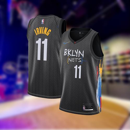 Nike NBA Nets City Edition Kyrie Irving Swingman Jersey