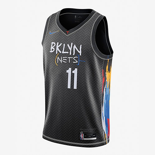 Nike NBA Nets 19-20 City Edition Kyrie Irving Swingman Jersey