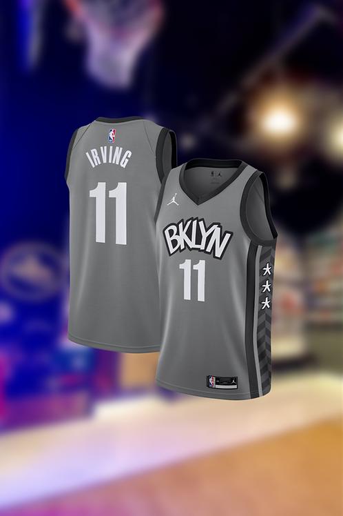 Jordan NBA Nets Statement Edition Kyrie Irving Swingman Jersey