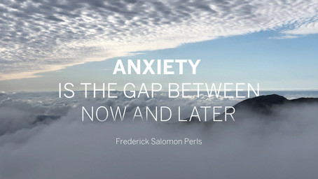 ANXIETY WANTS CERTAINTY