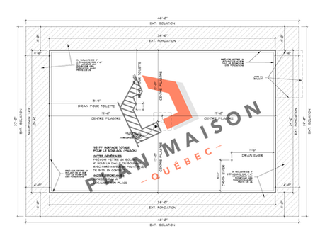 construire maison plan 5