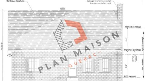 Plan maison rénovation