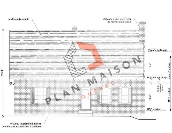 plan maison renovation