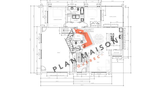plan construction maison 6