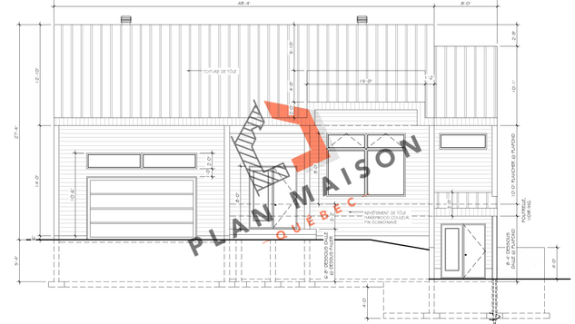 Plan maison construction