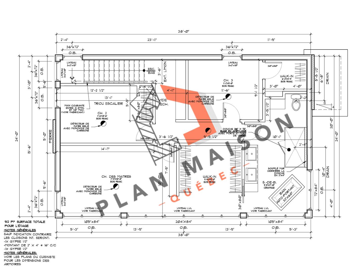 construire maison plan 7