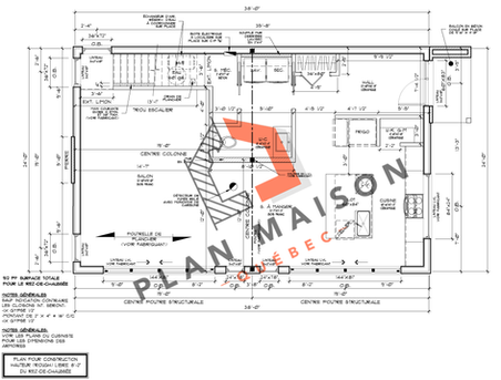 construire maison plan 6