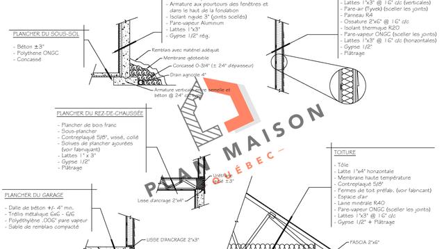 plan construction maison 7