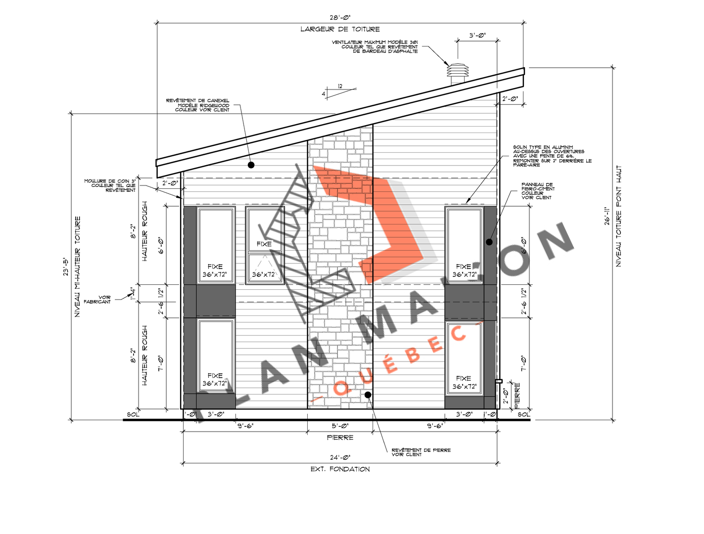 construire maison plan 2