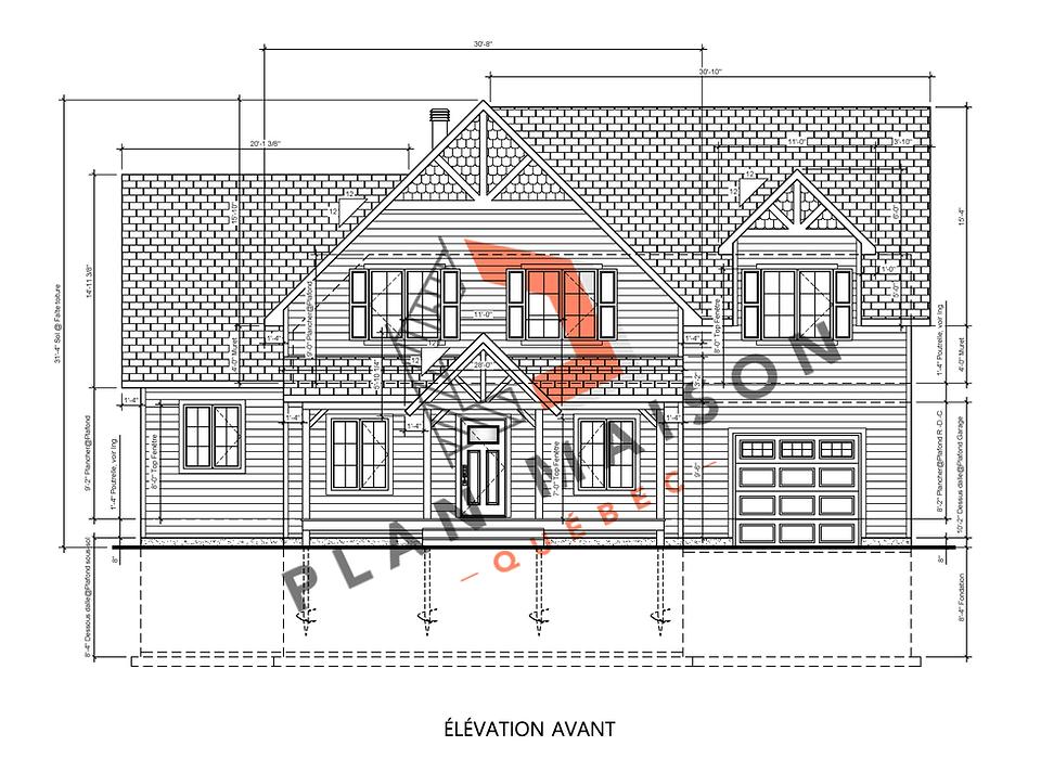 Plan de maison construction