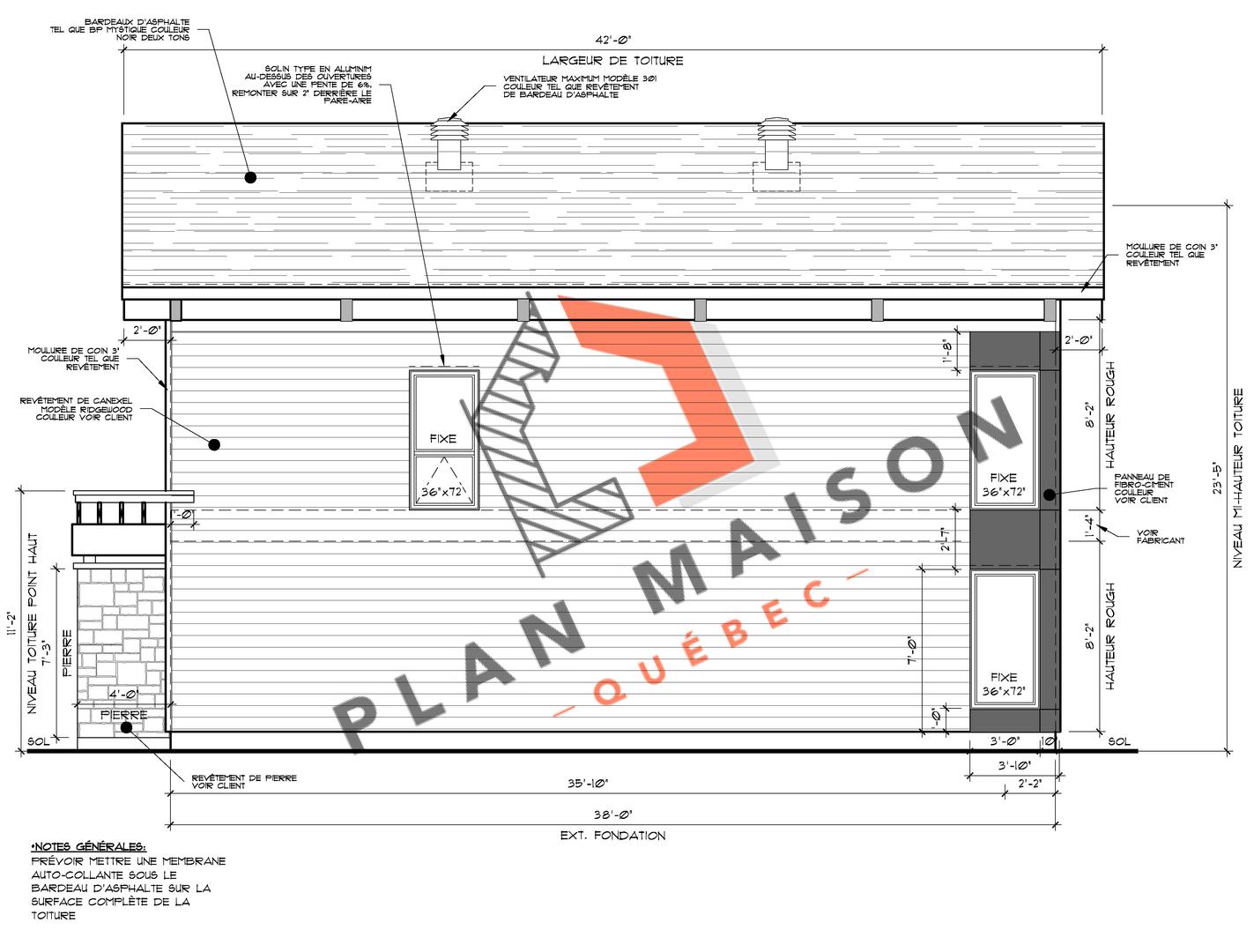 construire maison plan 3
