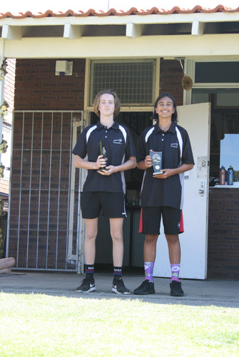 Year 9 Fairest & Best Lewis Dockery and Runner Up Ethan Crowder