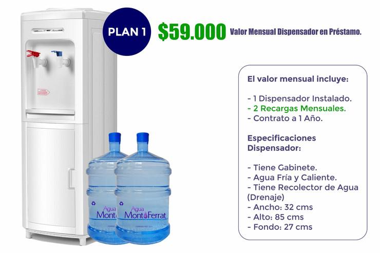 Agua MontFerrat Plan 1 (Empresas)