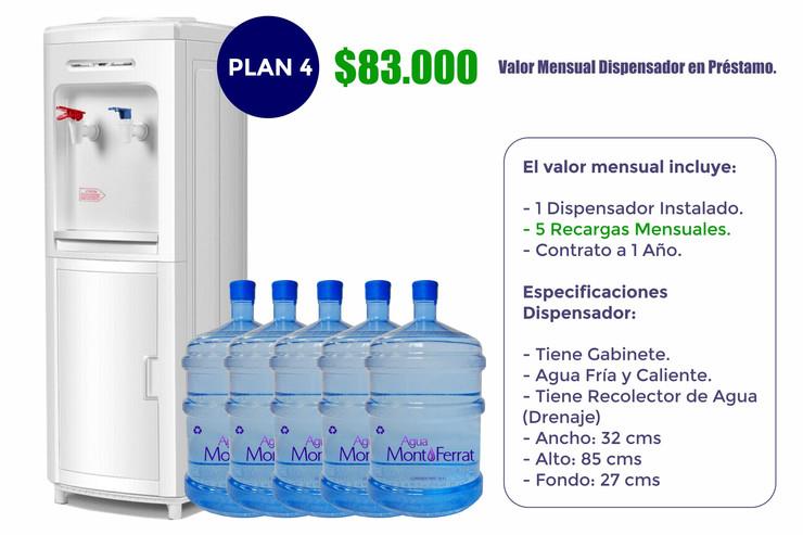 Agua MontFerrat Plan 4 (Empresas)