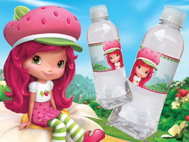 Agua Personalizada Fresita