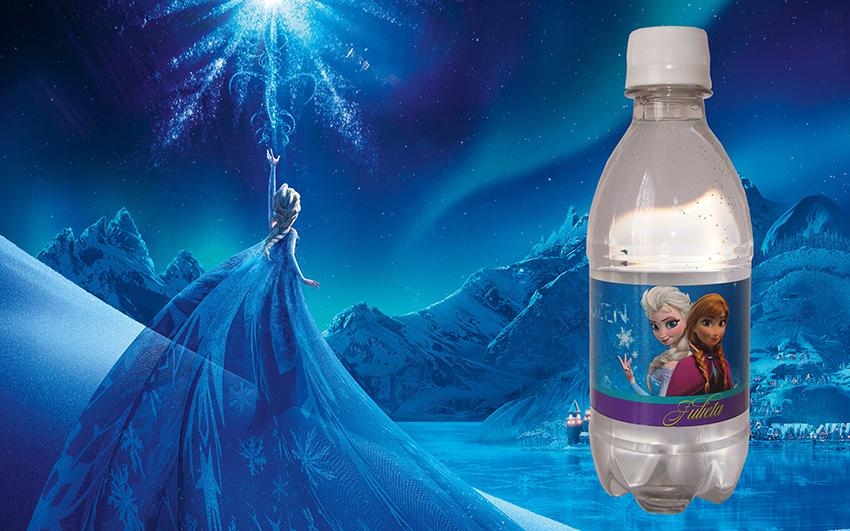 Agua Personalizada Frozen