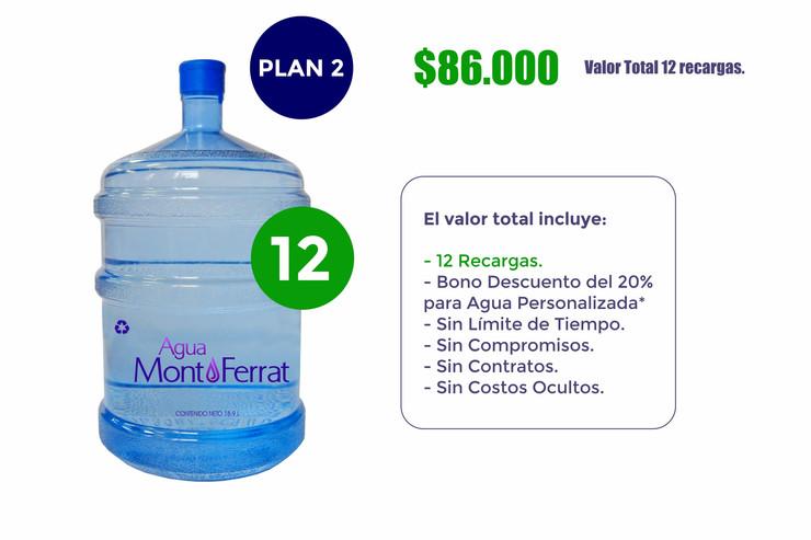 Agua MontFerrat Plan 2 (Hogares)