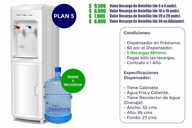 Agua MontFerrat Plan 5 (Empresas)