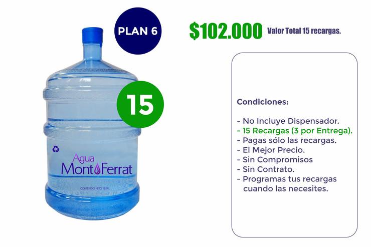 Agua MontFerrat Plan 6 (Empresas)