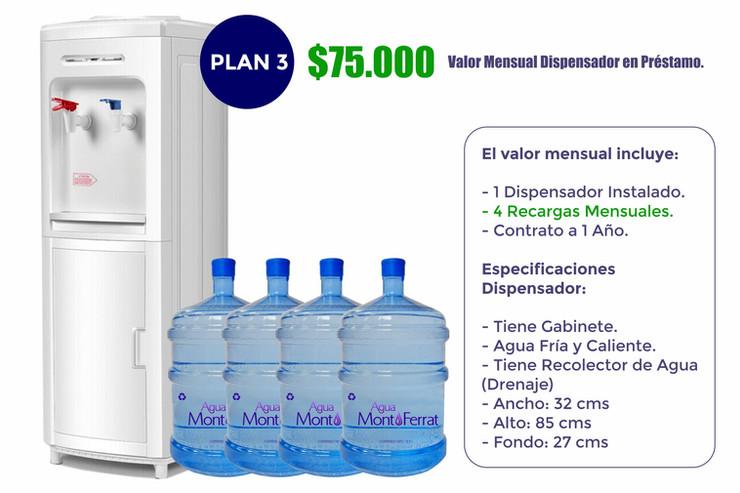 Agua MontFerrat Plan 3 (Empresas)