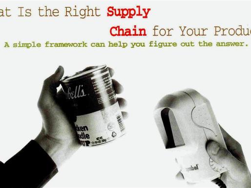 [Research] 제품 특성에 따라 SCM 전략은 달라져야 한다 : Strategic fit of Product & Supply Chain