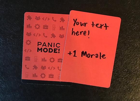Panic Mode blank cards (20)