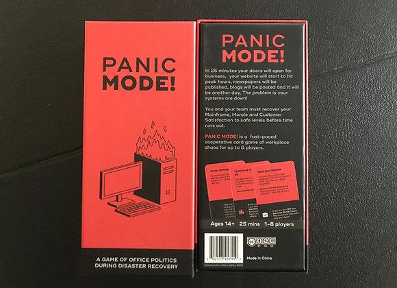 Panic Mode card game