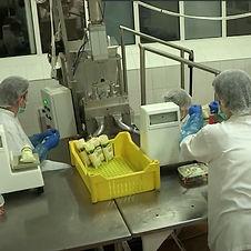 Produktion von Lebensmitteln in der Fabr