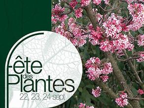 Sortie à la fête des Plantes