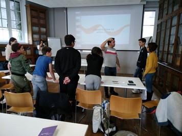 Startup à l'école, visite d'Agoranov
