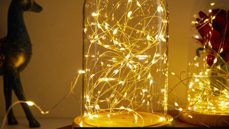 LED String lights - Multiple sizes- Battery operated
